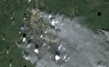 Incendie dévastateur au Canada